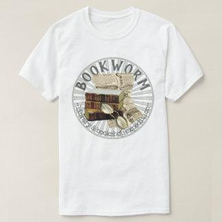 De grappige Oude Boeken van de Boekenwurm T Shirt