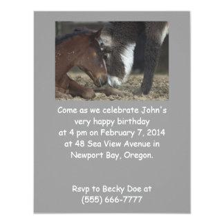 De grappige Partij van de Verjaardag nodigt 10,8x13,9 Uitnodiging Kaart