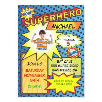 De grappige Partij van de Verjaardag van het 11,4x15,9 Uitnodiging Kaart