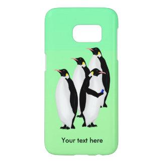 De grappige Pinguïn van de Keizer op een Mobiel Samsung Galaxy S7 Hoesje