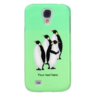 De grappige Pinguïn van de Keizer op een Mobiele Galaxy S4 Hoesje