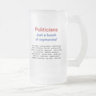 De grappige Politieke Mokken van de Humor
