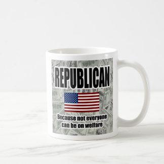 De grappige Republikeinse Mok van het Welzijn