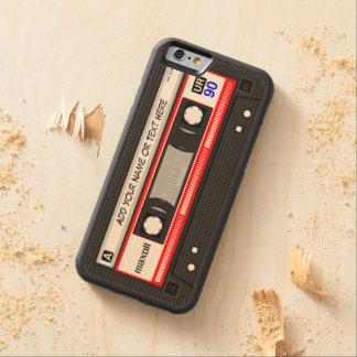 De grappige Retro Band van de Cassette van de Esdoorn iPhone 6 Bumper Hoesje