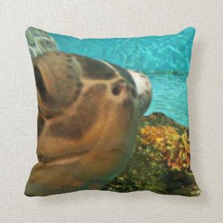 De grappige Schildpad Selfie van het Zee Sierkussen