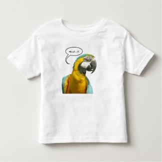 De grappige Sprekende T-shirt van de Peuter van de