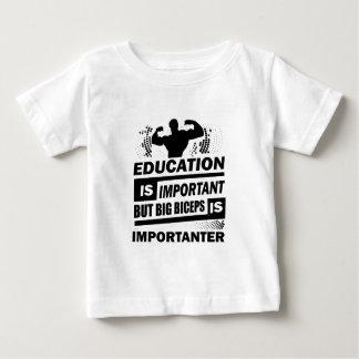 De grappige Spreuken van de Gymnastiek Baby T Shirts