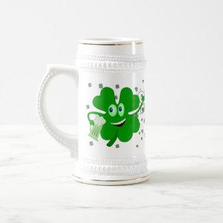 De grappige St Patricks Stenen bierkroes van de Bierpul
