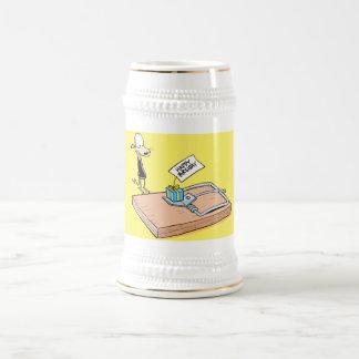 De grappige Stenen bierkroes van het Bier van de Bierpul