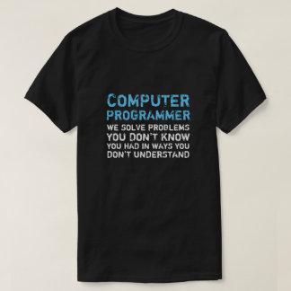De Grappige T-shirt van de Programmeur van de