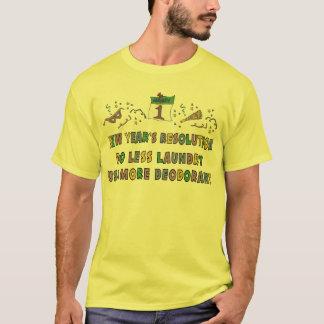 De Grappige T-shirt van de Resoluties van het