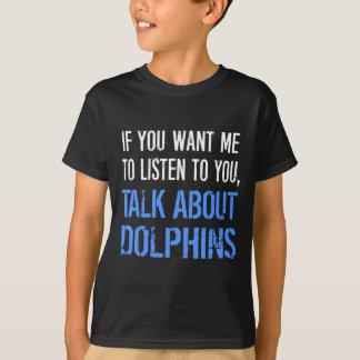 De grappige T-shirt van Dolfijnen