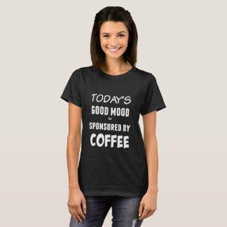 De grappige T-shirt van het Citaat van de Koffie