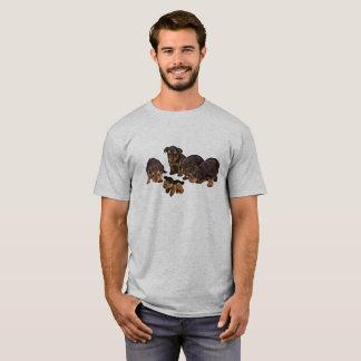 De grappige T-shirt van het Mannen van de Honden