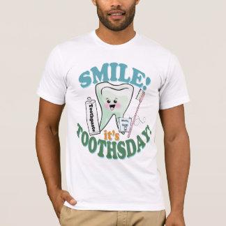 De grappige TandHygiënist van de Tandarts T Shirt