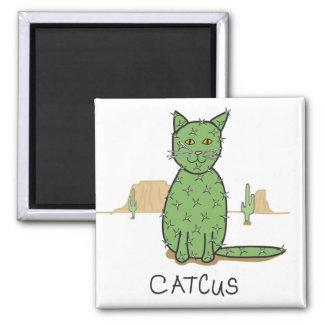 """De grappige Tekening van de Cactus """"Catcus"""" Magneet"""