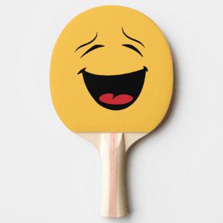 De grappige Tweezijdige Gelukkige Droevige Knuppel Tafeltennis Bat