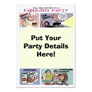 De grappige Uitnodiging van de Partij