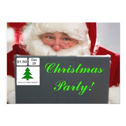 De grappige Uitnodiging van de Partij van Kerstmis