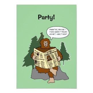 De grappige Uitnodigingen van de Partij van de