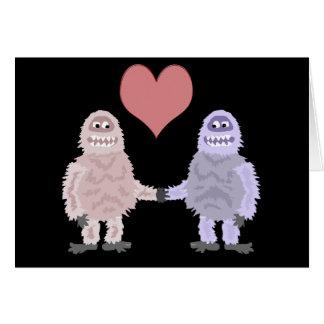De grappige Valentijnse Kaart van Yetien