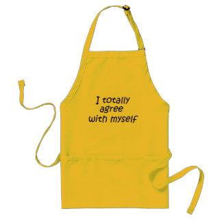 De grappige van de keukengiften van citaatschorten standaard schort