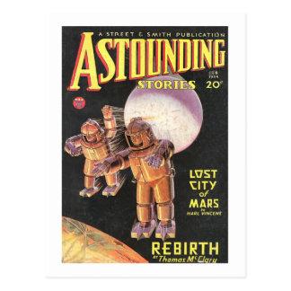 De Grappige Verbazende Verhalen 1934 van het Briefkaart