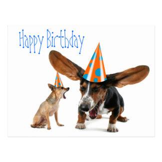De grappige Verjaardag van de Hond Briefkaart