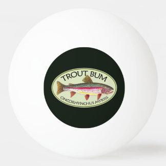 De grappige Visser van de Bedelaar van de Forel Pingpongbal
