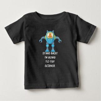De grappige Wetenschap van de Robot van de Baby T Shirts