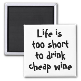 De grappige wijn citeert de unieke giften van vierkante magneet