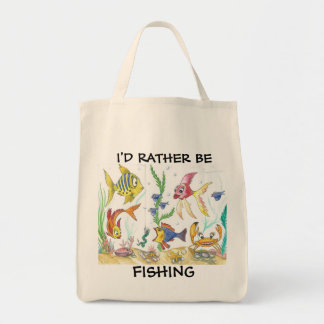 De grappige Zak van de Visserij van Vissen Draagtas
