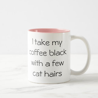 De grappige zwarte van de Koffie met de Mok van