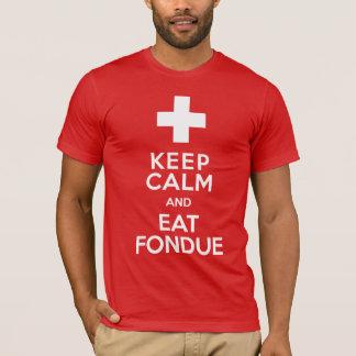 De grappige Zwitserse Toevlucht van de Ski houdt T Shirt