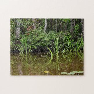 De Grassen van het moerasland Puzzels