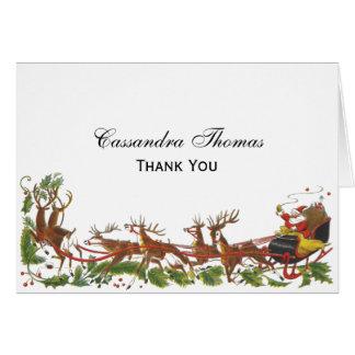 De Grens van het Rendier van de Ar van de Kerstman Briefkaarten 0