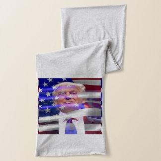 De Grey Jersey Sjaal van Donald Trump Heather Sjaal