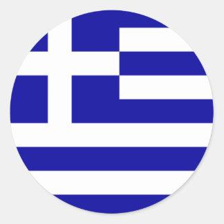 De Griekse Sticker van de Vlag