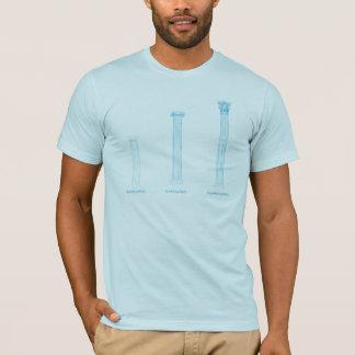 De Griekse T-shirt van de Orde van de Kolom