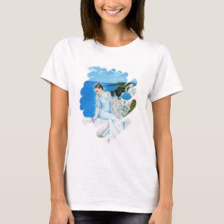 De Griekse T-shirt van Santorini