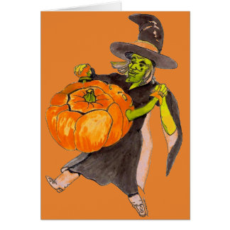 De griezelige Grappige het Dansen van Halloween Kaart