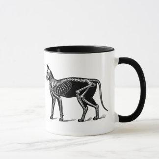 De griezelige Mok van de Koffie van de Anatomie