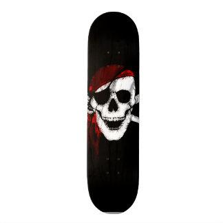 De griezelige Schedel en de Gekruiste knekels van Skate Decks