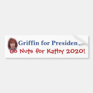 De Griffioen van Kathy voor President Bumpersticker