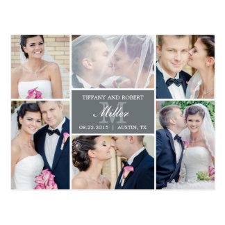 De Grijze Aankondiging van het Huwelijk van de Briefkaart