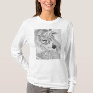 De grijze Kat van de Schaal T Shirt