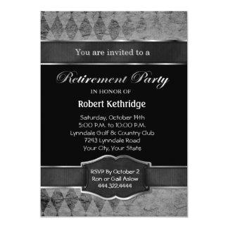 De grijze Klassieke Uitnodigingen van de Partij