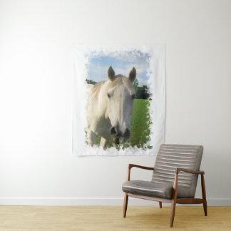De grijze Merrie van het Paard van het Kwart Wandkleed
