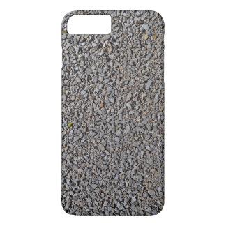 De grijze Rotsen van het Patroon van het Grint iPhone 8/7 Plus Hoesje