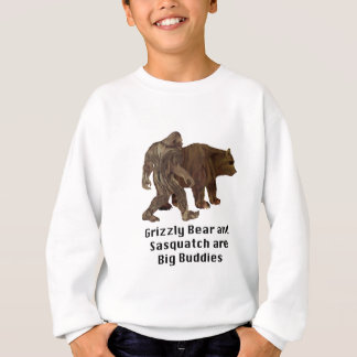 De grizzly en Sasquatch zijn de Grote T-shirt van